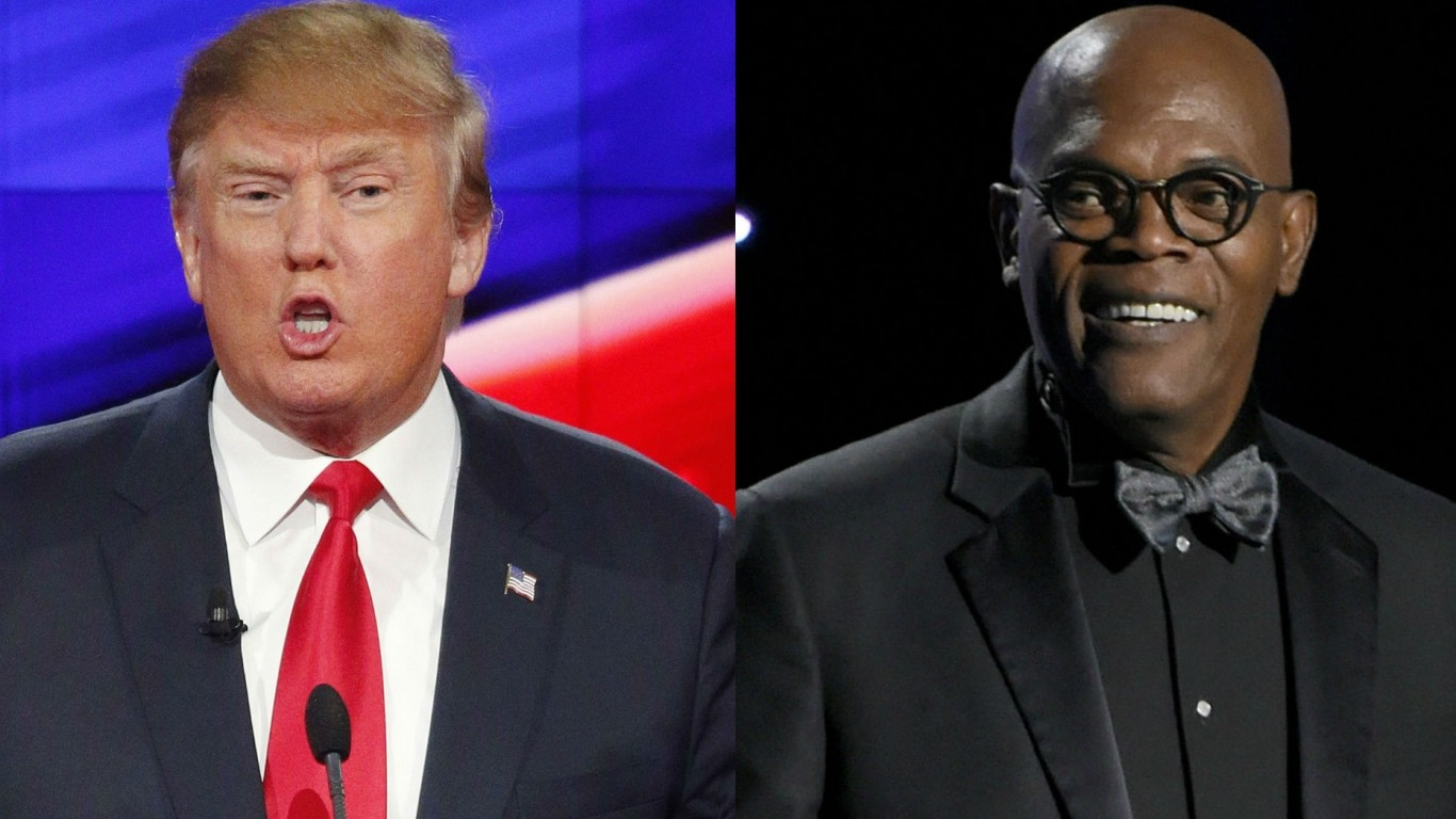 Samuel L. Jackson on his 'feud' with Donald Trump