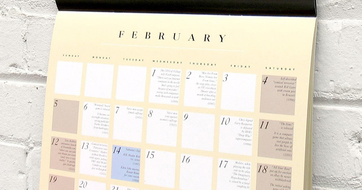 Mark your calendars: February 29 doesn't return until 2020