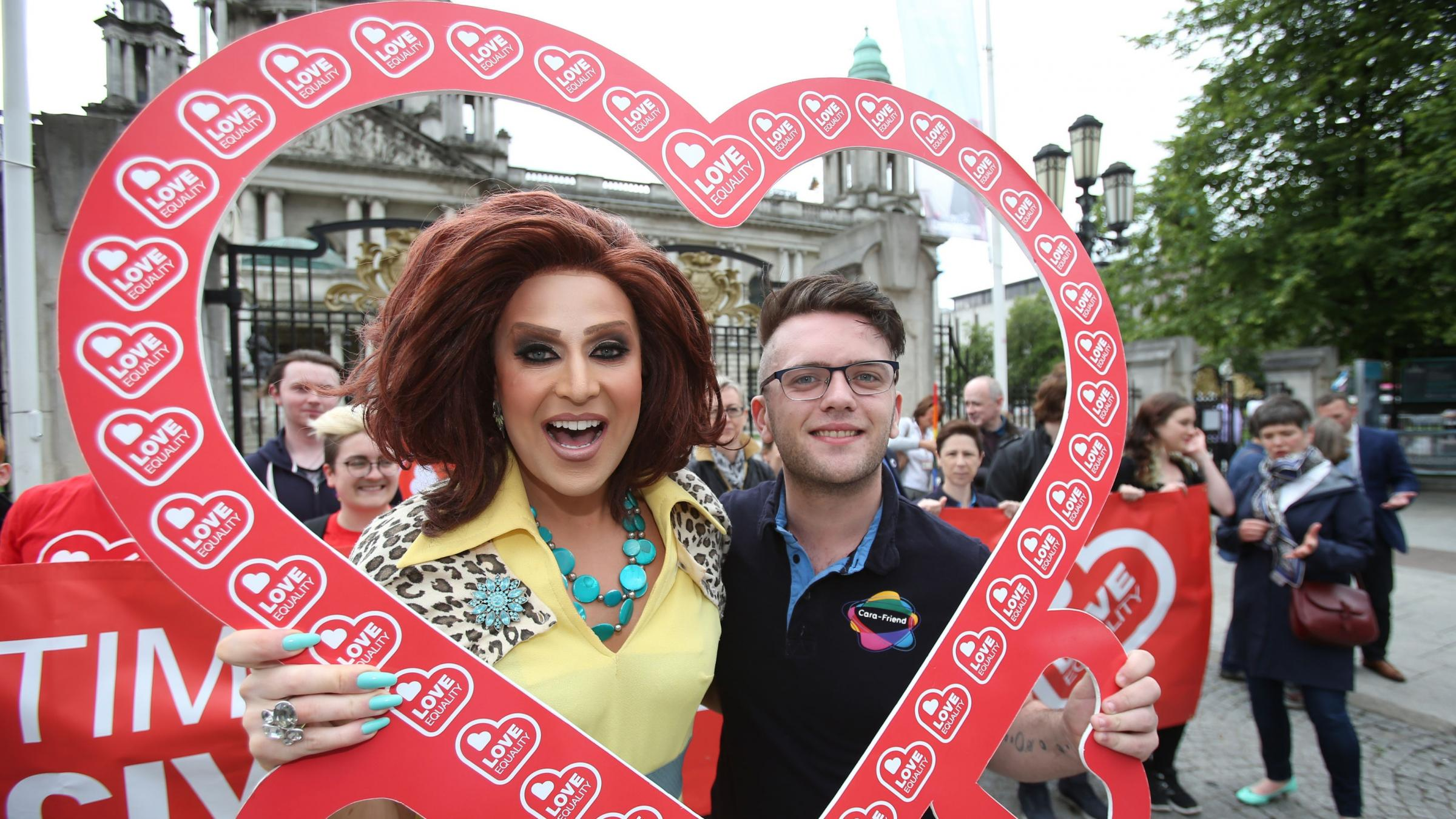 LGBT activists call for thousands to join same-sex marriage march