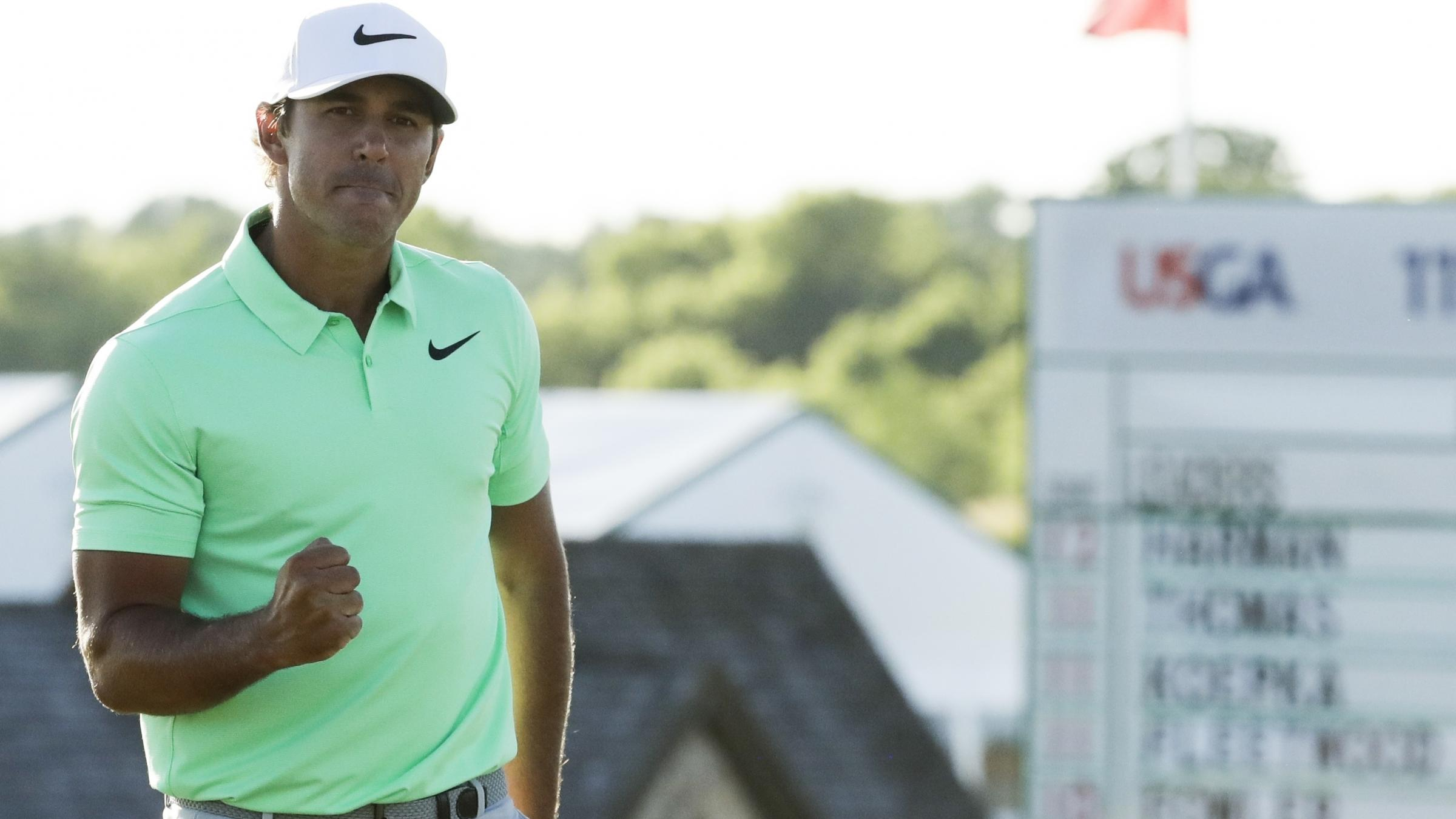 Brooks Koepka ties tournament-record score 16-under to win US Open