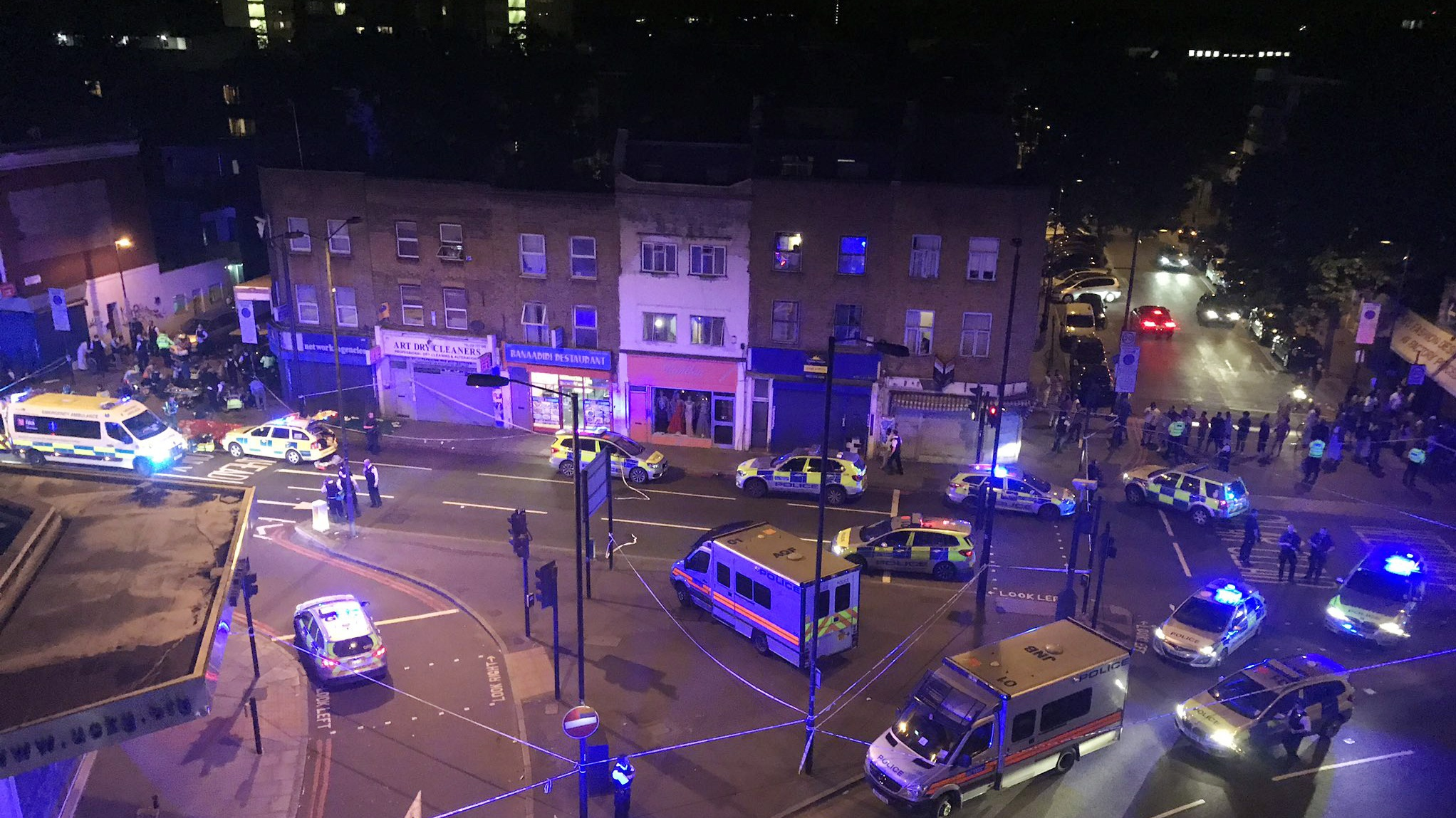 Vehicle Collides With Pedestrians in 'Major Incident,' Say London Police