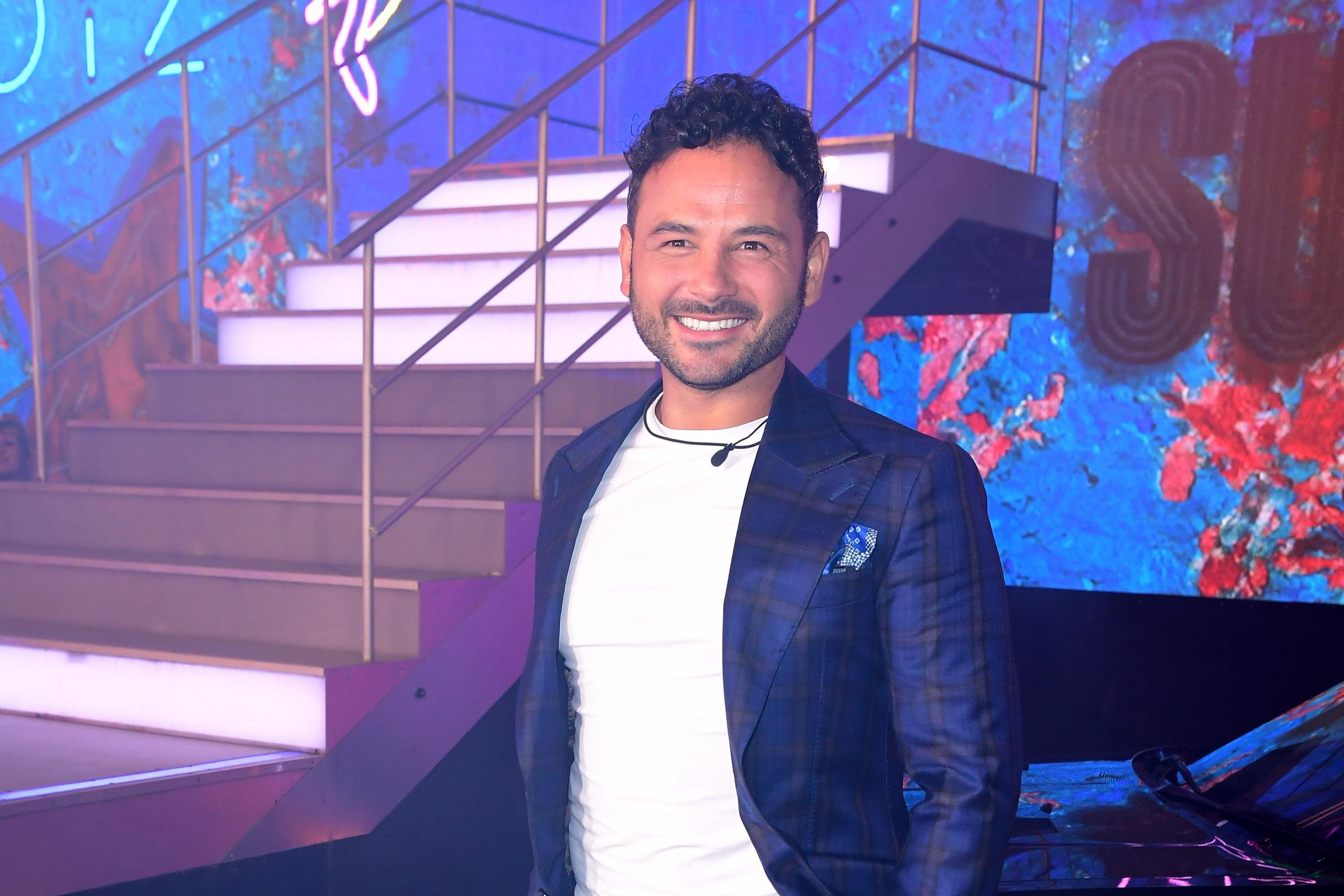 Ryan Thomas at Celebrity Big Brother Launch Night 2018