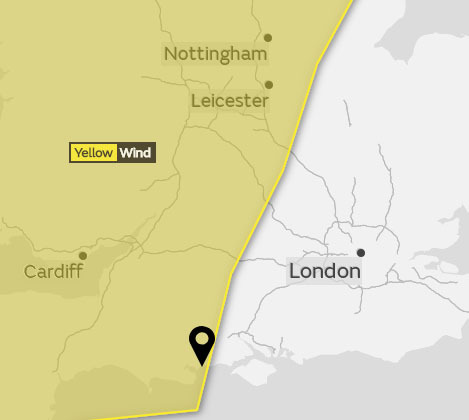 Storm Diana to bring gale-force winds to Preston