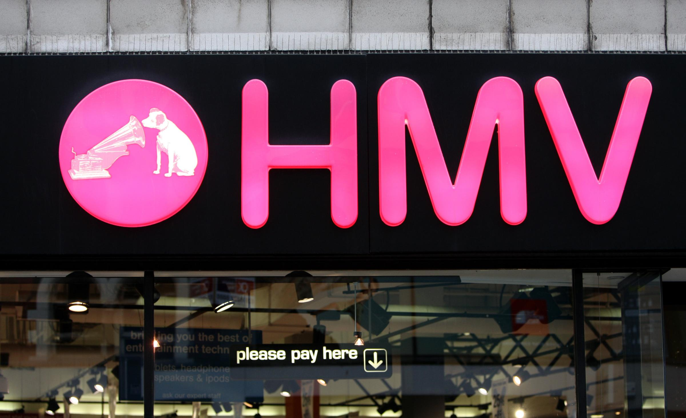 British UK music retailer HMV faces the music for second time